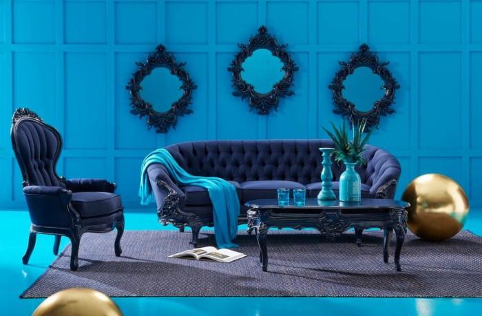 Black furniture Vilanetti